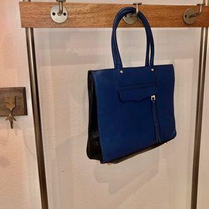Rebecca Minkoff dark royal satchel